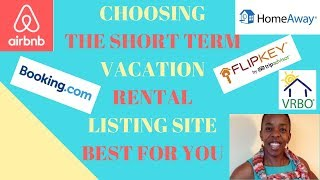 Which listing site is best for vacation rental owners (2018) | Where should you list short-term stay