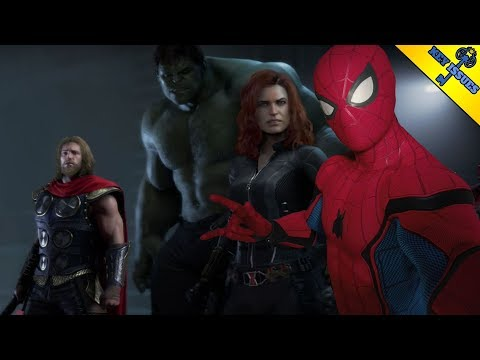 Avengers and Spider-Man. A Marvel Videogame Universe.