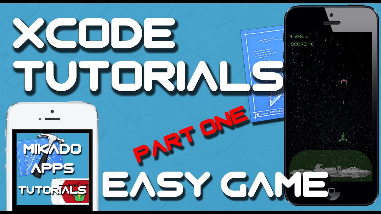 Xcode 6 Tutorial - Part 1 How to make a basic game in Xcode - FRUITY APPS DEVELOPMENT