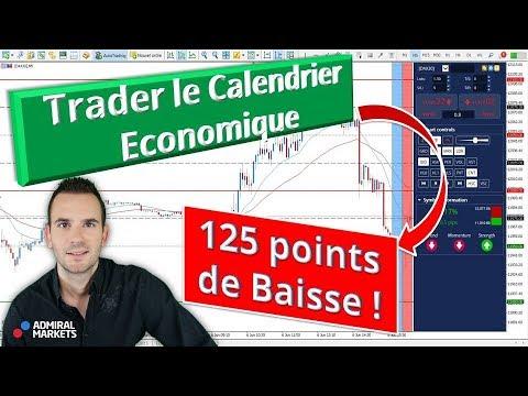 Trader forex calendrier economique