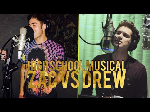 High School Musical: Zac Efron's voice compared to Drew Seeley's