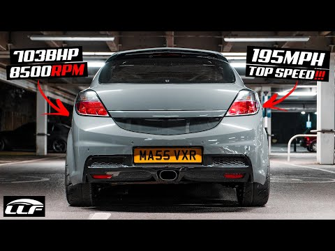 THIS 703BHP *MONSTER* ASTRA VXR HITS 195MPH!!