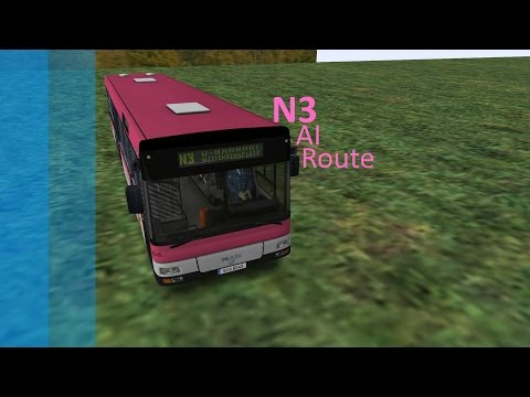 OMSI: 2 - Route N3 [AI Route] X10 Berlin |