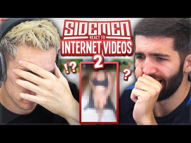 SIDEMEN REACT TO INTERNET VIDEOS 2!