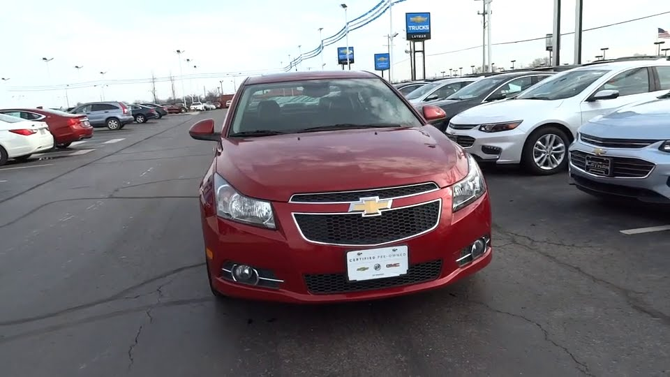 Bobby Layman Chevrolet >> 2014 Chevrolet Cruze Columbus, London, Springfield, Hilliard, Dublin, OH 175213A - YouTube