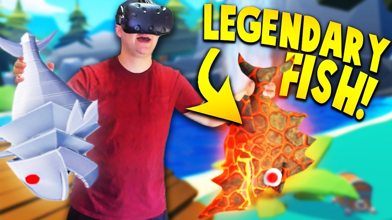 Catching secret legendary lava fish robot fish in crazy for Crazy fishing videos