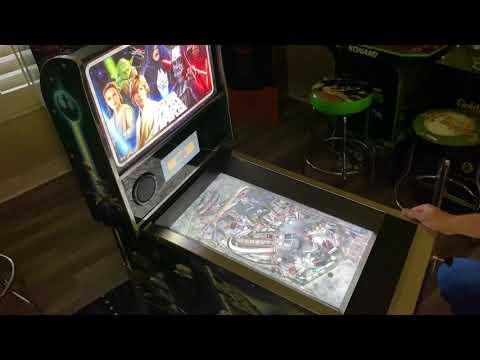 Arcade1up Star Wars Pinball Battle of Mimban Table: Extended Gameplay from Kelsalls Arcade
