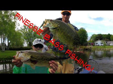 FINESSE Fishing For Spring Bass!--Multi-Species--May 2018
