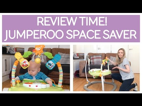 REVIEW : JUMPEROO SPACESAVER - RAINFOREST FRIENDS By FISHER-PRICE