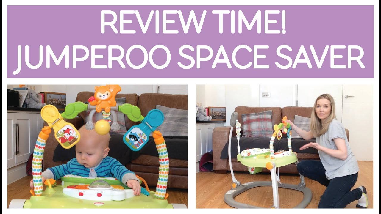 28b6ef5b5 REVIEW   JUMPEROO SPACESAVER - RAINFOREST FRIENDS by FISHER-PRICE ...