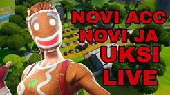 Novi acc novi ja!!!!(fortnite live balkan)