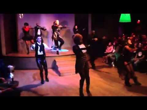 Tha Firm aka  Tha Dance Camp Halloween Friday night performance @ Town Dance Boutique 2013