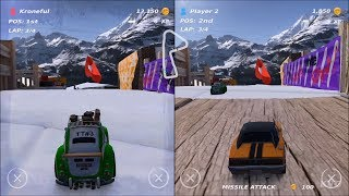 Table Top Racing World Tour Nitro Edition Splitscreen Gameplay Nintendo Switch HD