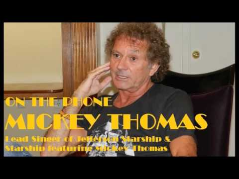 Mickey Thomas from Starship Interview 08/24/2016 - Jefferson Starship - DysfunctionalPodcast.com