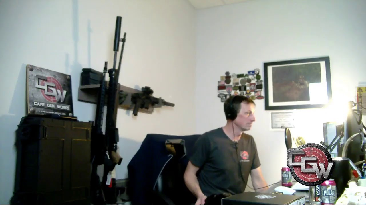 Cape GunWorks Live Stream
