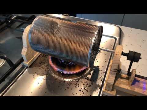 Diy Coffee Roaster Copper Drum Doovi