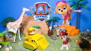 PAW PATROL Nickelodeon Paw Patrol Helps the Zoo A Paw Patrol Video Toy Video