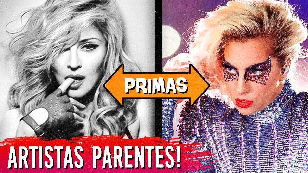 20 ARTISTAS que são PARENTES e você NÃO SABIA!  🙆🏻↔️ 🙆