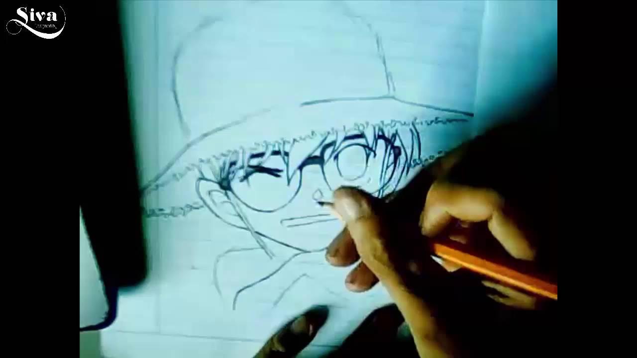 Hướng dẫn vẽ Conan