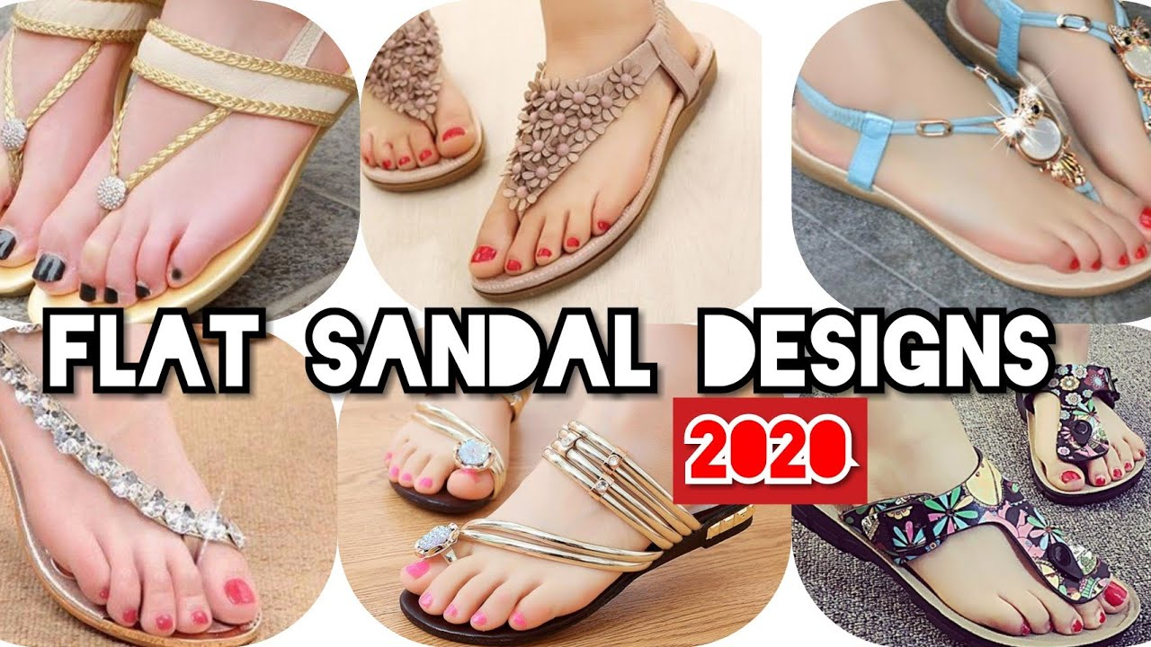 new flat sandal styles, most beautiful