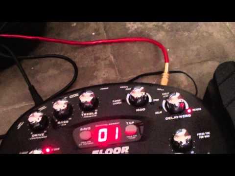 Tutorial Cara Menggunakan Efek Untuk Gitar Elektrik