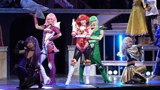 舞台「Cutie Honey Emotional(キューティーハニー・エモーショナル)」が2月6日、東京のサンシャイン劇場で開幕。初日に行われた会見には、上西恵さん(キューティー ...