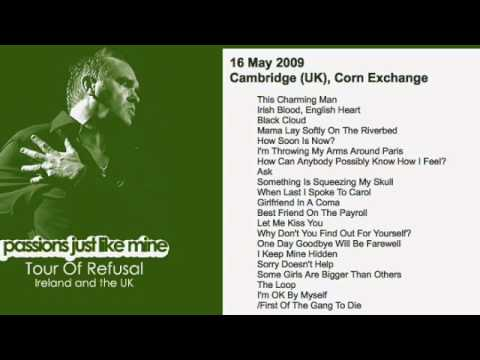 MORRISSEY - May 16, 2009 - Cambridge, England, UK (Full Concert) LIVE
