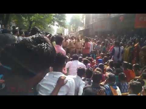 Mumbai BMC Demolition 😡😡 Vakola pipeline Santacruz (East) 😡😡😡😡 Mumbai Police