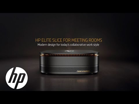 Meeting Rooms: Product Demo | HP Elite Slice | HP