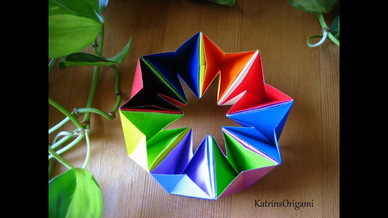 Origami Magic Circle Tutorial