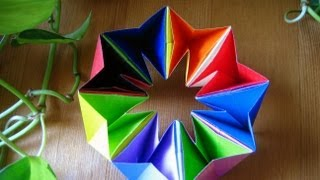 Repeat youtube video Origami ♣ Magic Circle ♣