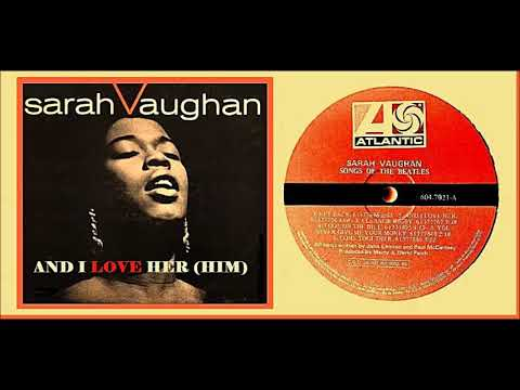 Sarah Vaughan - And I Love Her(Him) 'Vinyl'