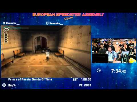 #ESA15Yellow - Prince of Persia: Sands Of Time [ Any% ] Speedrun by Henneko_