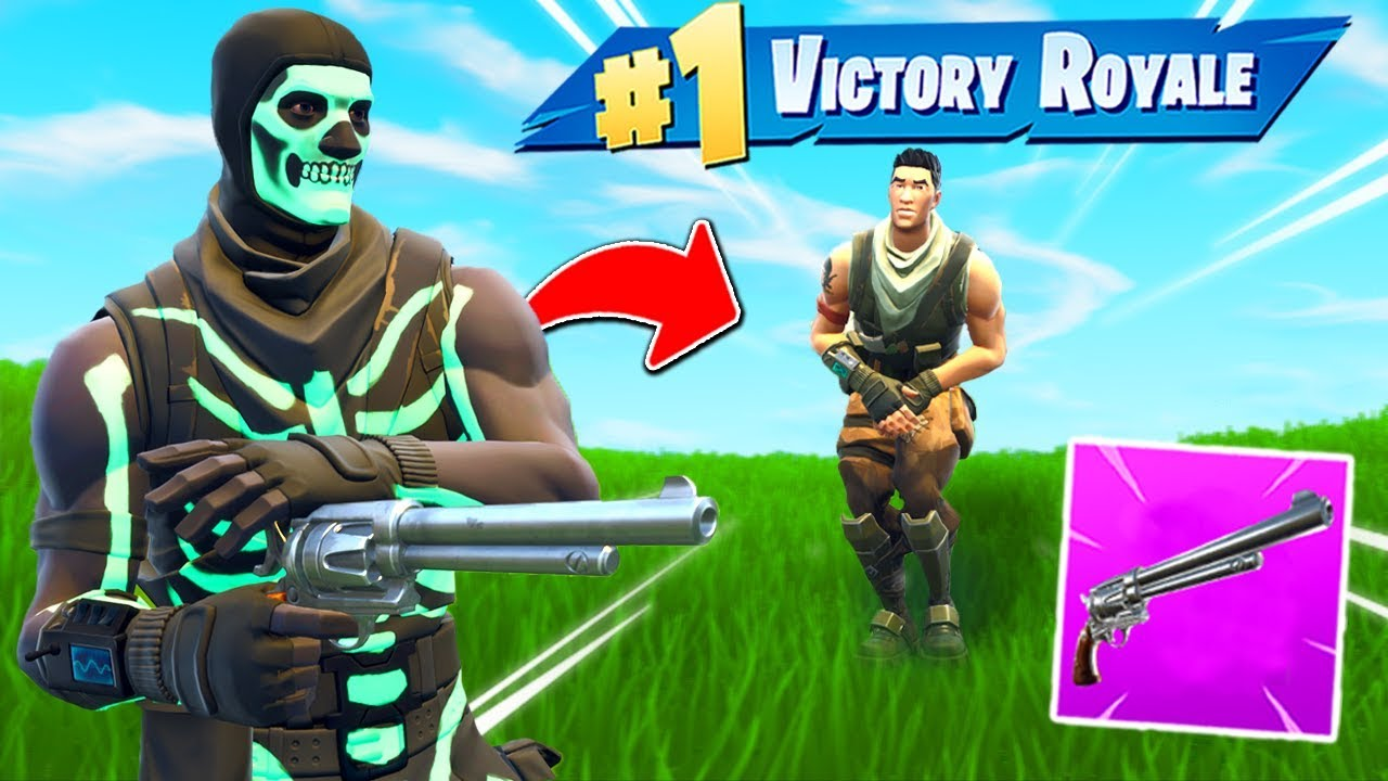 The SIX SHOOTER ONLY CHALLENGE In Fortnite!
