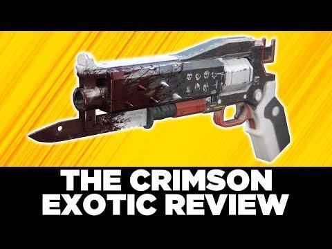 Destiny 2: CRIMSON Exotic Handcannon Review