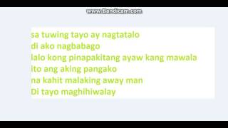 Di Tayo Maghihiwalay -Still One , Flickt One , Chestah CRSP (DjyaelBeats) Lyrics