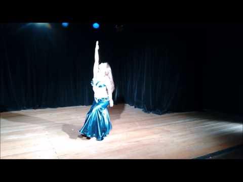 Dança do Ventre - Lu Hana Nur - Apresentação Solo no XIII Festival Najma Safi