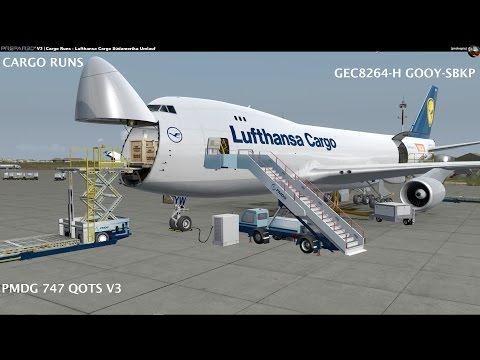 Cargo Runs - Lufthansa Cargo Südamerika Umlauf - Part 4 GOOY-SBKP Departure [German]