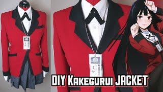 How to Cosplay: Yumeko Jabami Jacket KAKEGURUI #HSAMABLOG