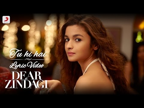 Mix - Tu Hi Hai - Official Lyric Video | Gauri S | Alia | Shah Rukh | Amit | Kausar M | Arijit S