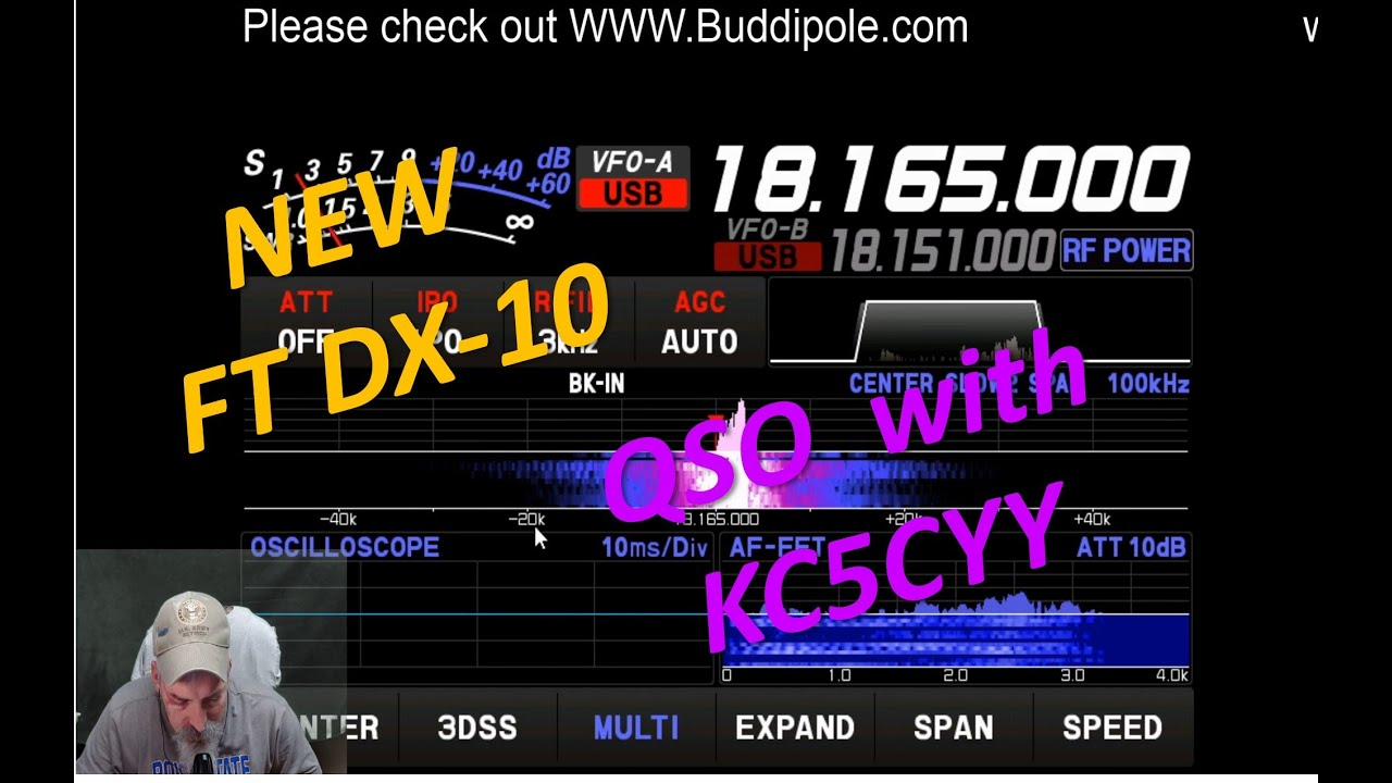 QSO with KB6KB and KC5CYY