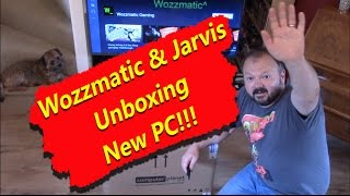 Wozzmatic Unboxes The New Pc With Jarvis (1080p) Hd