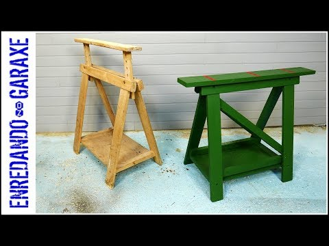 How to reinforce a sawhorse
