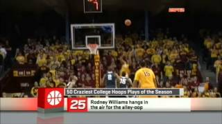 SportsNation 50 Craziest College Hoops Plays of this Season 2012 13