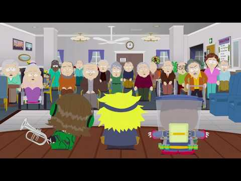 Lone Green: South Park The Fractured But whole, Performing For The Elderly