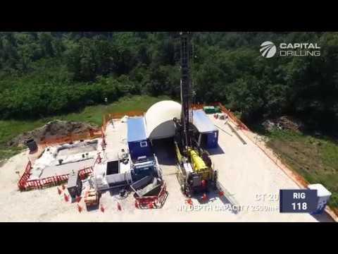 Capital Drilling (Bor, Serbia) - Drone Promo Video