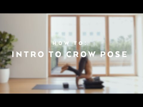 How To: Intro to Crow Pose with Andrew Sealy