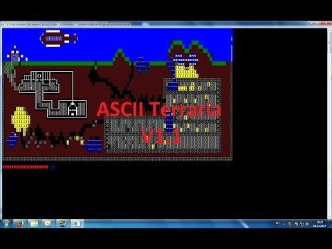 ASCII Terraria C++ Release Physics