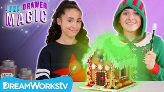 Magic Gingerbread House | JUNK DRAWER MAGIC