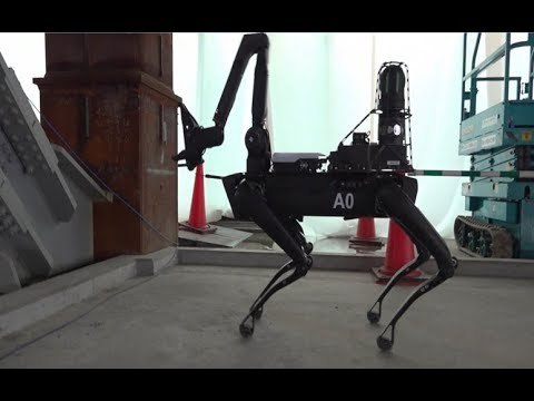 Spot Robot Testing At Construction Sites
